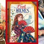 Śledztwa Enoli Holmes Zagadka wachlarza - recenzja komiksu