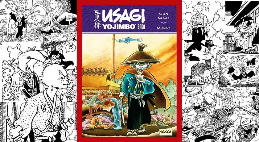 Usagi Yojimbo Saga Księga 7 - recenzja komiksu