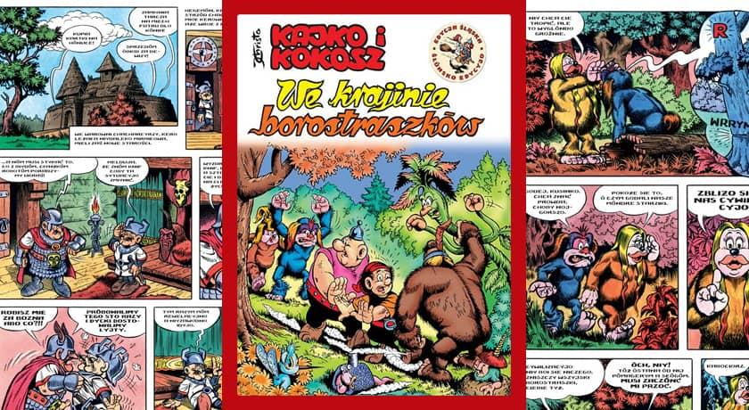 We krajinie borostraszków - recenzja komiksu