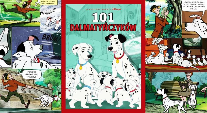 101 dalmatyńczyków - recenzja komiksu