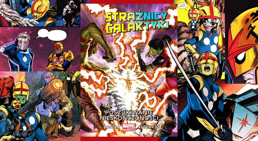 Strażnicy Galaktyki #3 - Poszukiwanie nieskończoności - recenzja komiksu