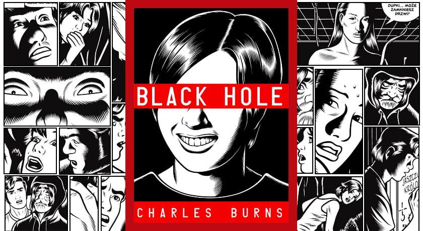 Black Hole - recenzja komiksu