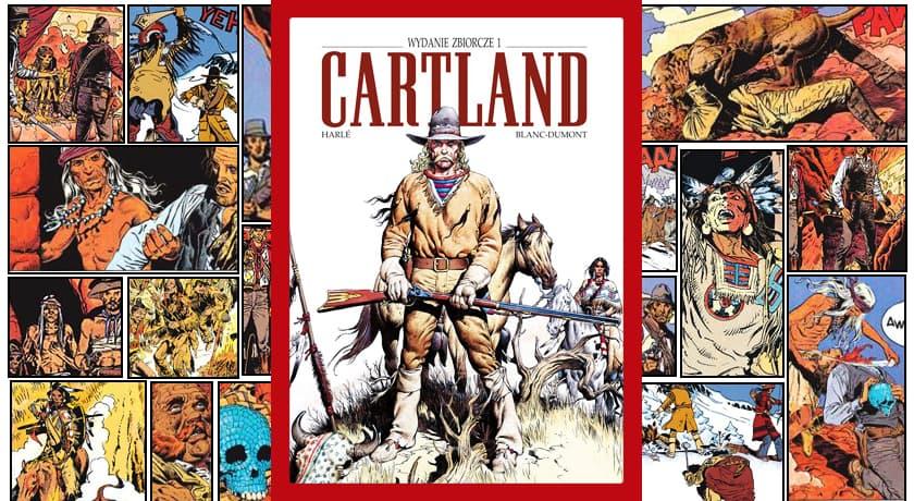 Cartland #1 Wydanie Zbiorcze - recenzja komiksu