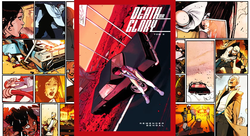 Death or Glory #2 - recenzja komiksu