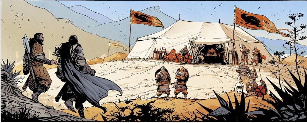 Ira Dei: Złoto Kaidów- rysunek 2
