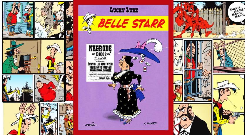Lucky Luke Belle Starr - recenzja komiksu