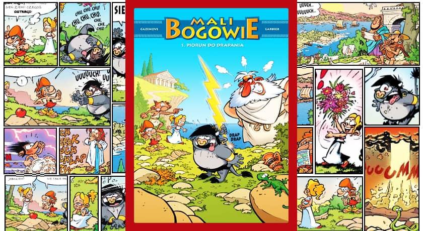 Mali Bogowie #1 - recenzja komiksu