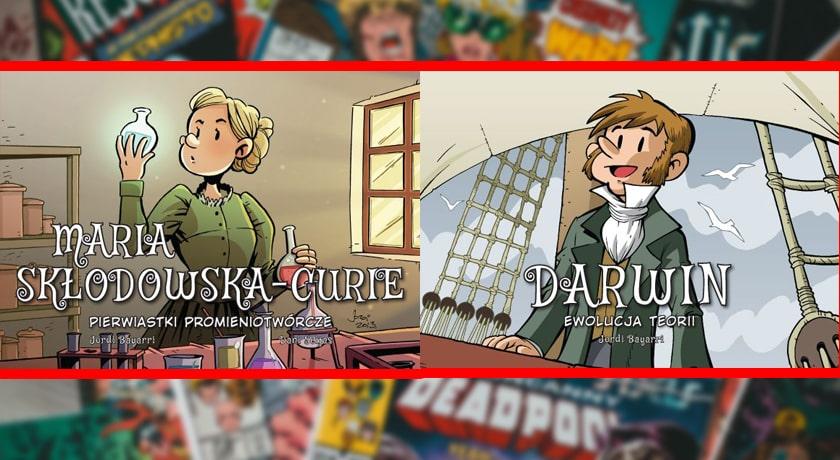 Najwybitniejsi Naukowcy - recenzja komiksu