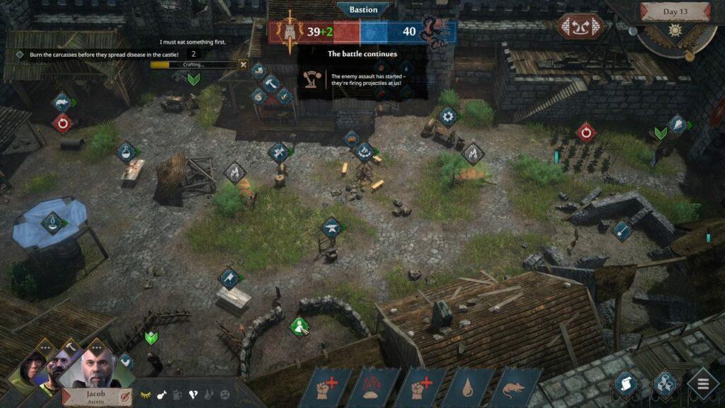 Siege Survival Gloria Victis grafika 1