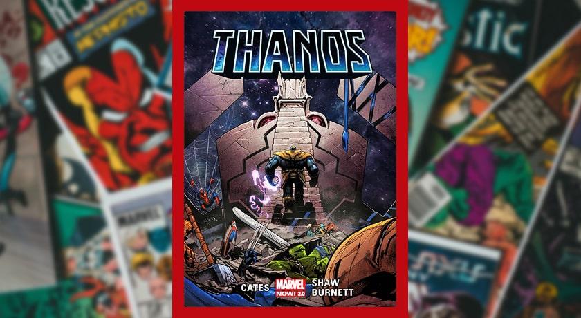 Thanos Tom 2 - recenzja komiksu