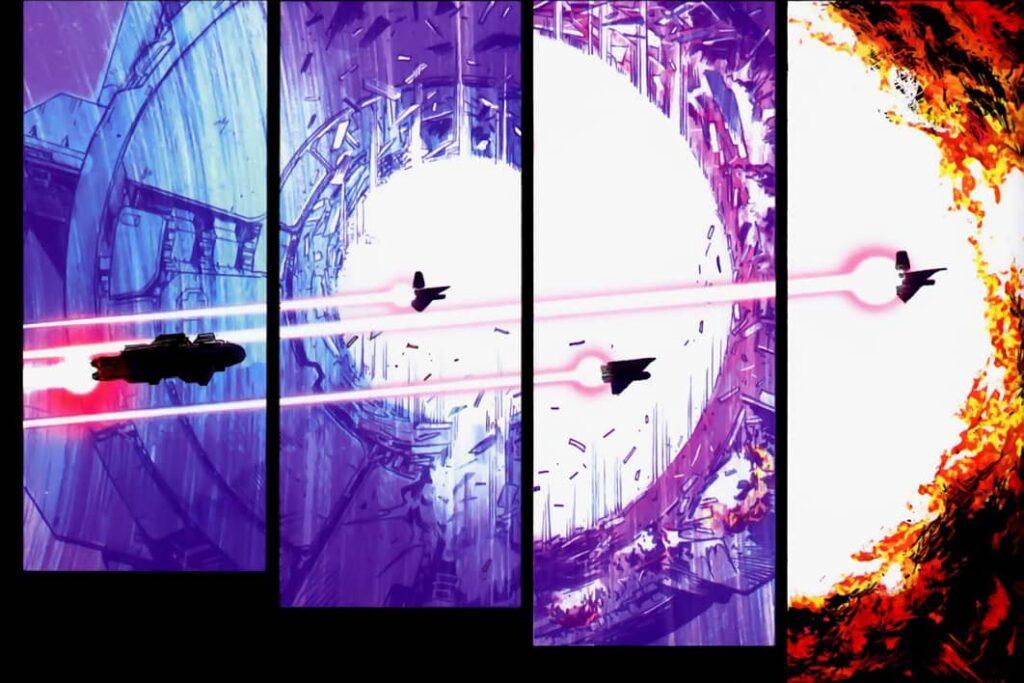 Universal War One Tom 1 - plansza 2