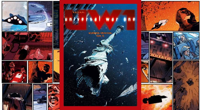 Universal War One Tom 2 - recenzja komiksu