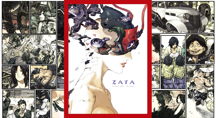 Zaya - recenzja komiksu