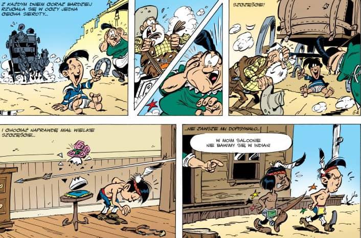 Kid Lucky #1 Uczeń kowboja - rysunek 2