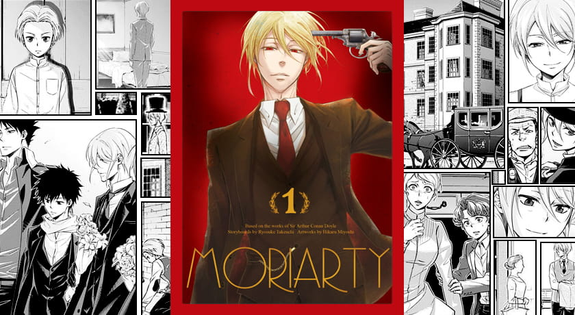 Moriarty #1 - recenzja mangi