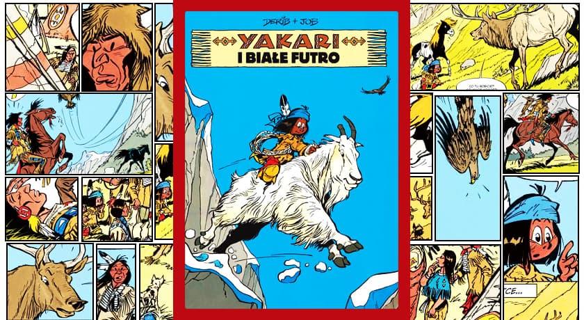 Yakari i białe futro - recenzja komiksu