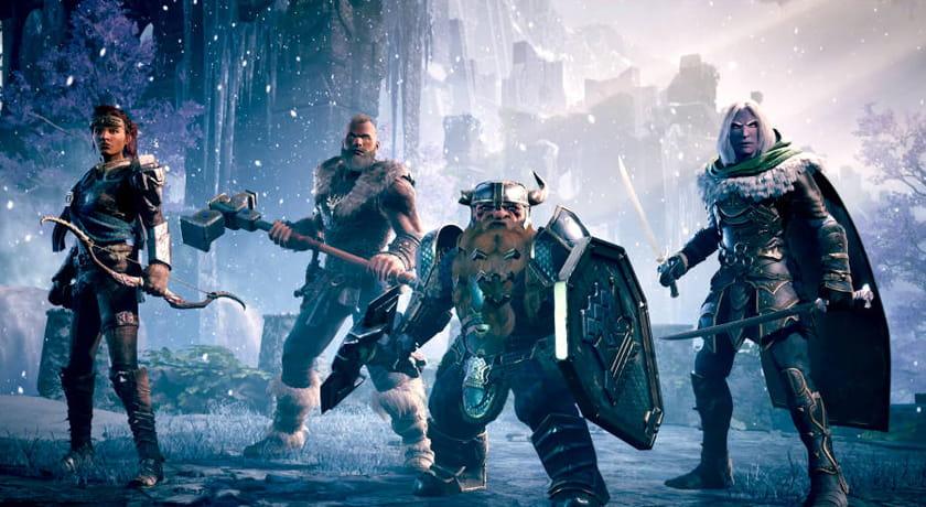 Dungeons & Dragons Dark Alliance - bohaterowie