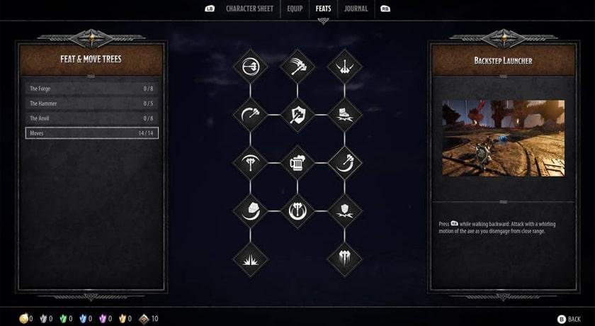 Dungeons & Dragons Dark Alliance - rozwój postaci