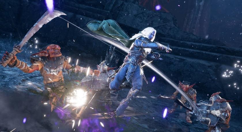 Dungeons & Dragons Dark Alliance - walka