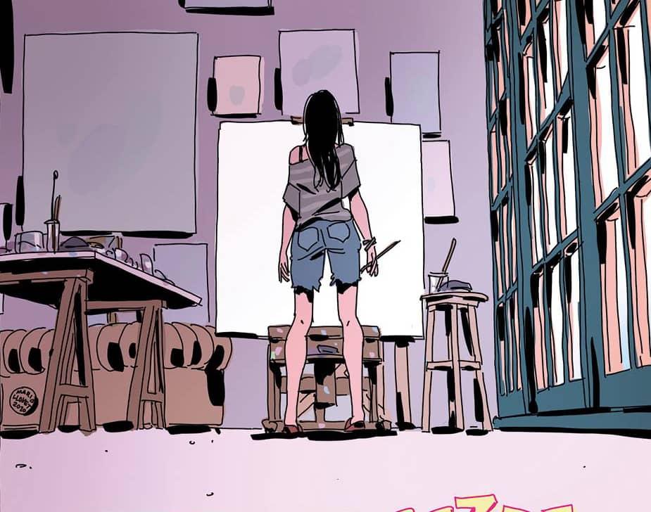 Faithless #2 - rysunek 1