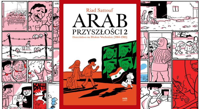 Arab przyszłości #2 - recenzja komiksu