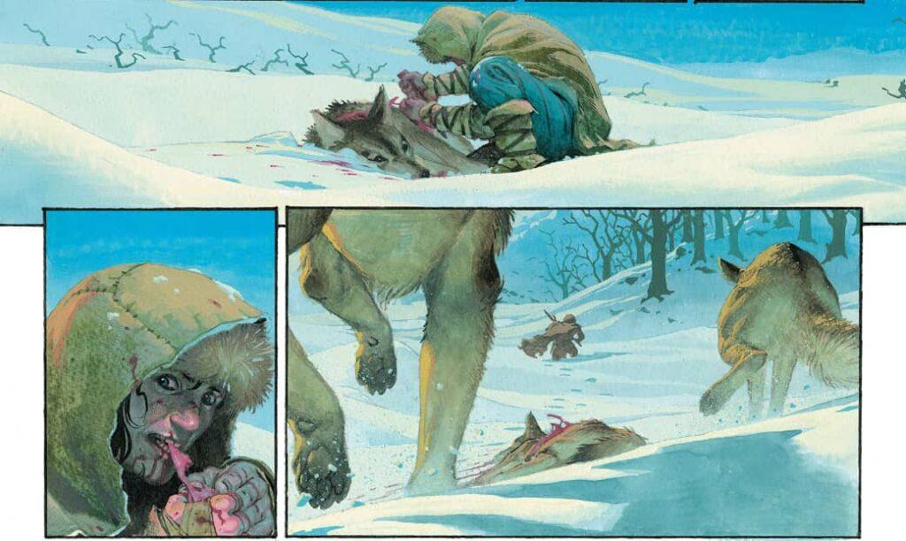 Conan Barbarzyńca Exodus i inne opowieści - rysunek 1