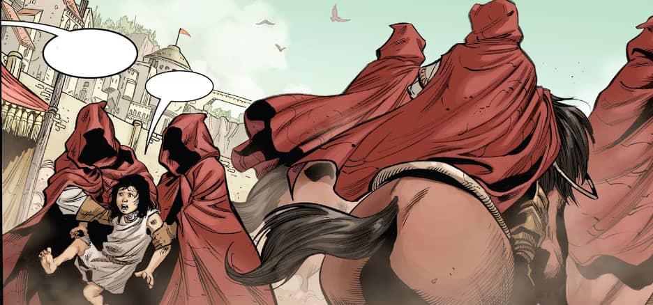 Conan Barbarzyńca Exodus i inne opowieści - rysunek 2