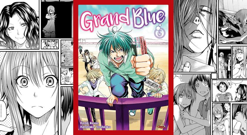 Grand Blue #6 - recenzja mangi