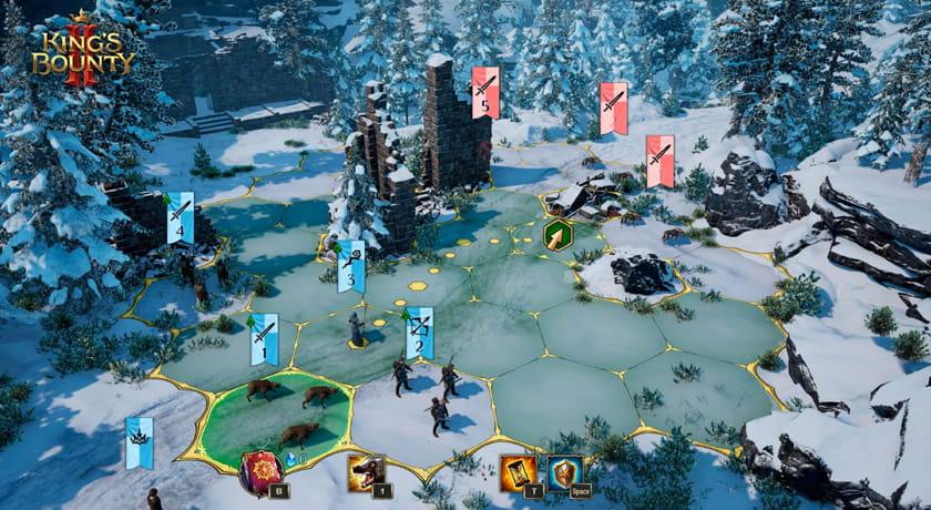 King's Bounty 2 - mapa bitwy