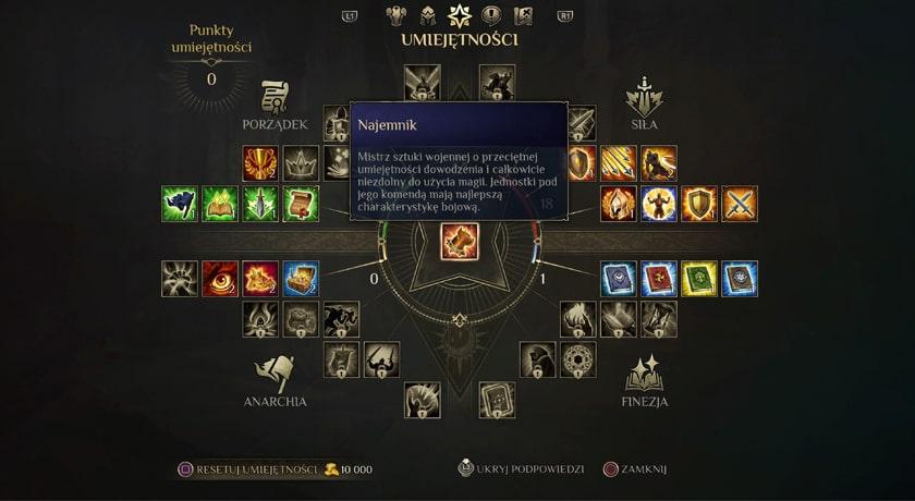 King's Bounty 2 - zdolności
