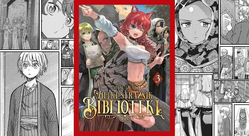 Wielki Strażnik Biblioteki #3 - recenzja mangi