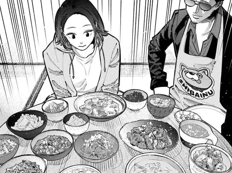 Yakuza w fartuszku #3 - rysunek 1